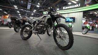 7. 2018 Kawasaki KLX250 - AIMExpo 2017 | 4K