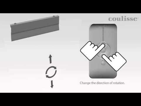 Programiranje motora za plise zavjese ABC-17