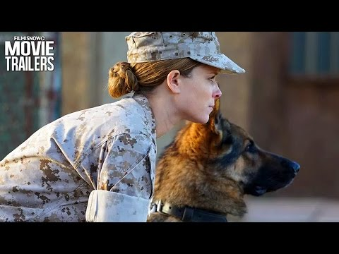 MEGAN LEAVEY Trailer: War Dog drama starring Kate Mara