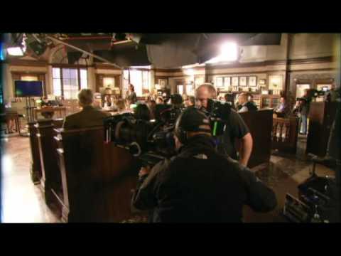 Erica Durance on Harry's Law Episode 2.11 Gorilla My Dreams - BTS