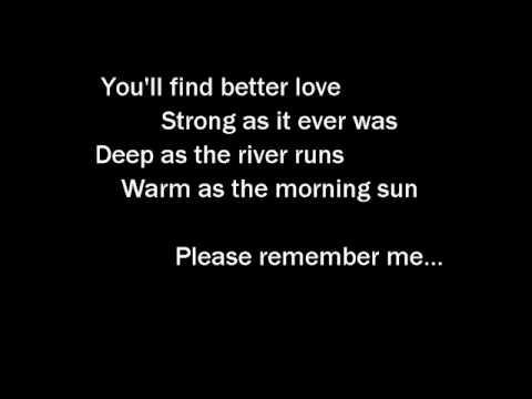 Tim McGraw – Please Remember Me – With Lyrics