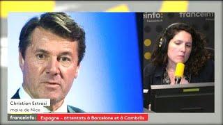 #Barcelone Pour Christian Estrosi l'UE doit aider financièrement les communes européennes à lutter contre le terrorisme