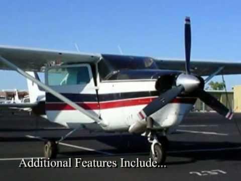 Barron Thomas 1966 Cessna Turbo T-210F Aircraft For Sale VIDEO