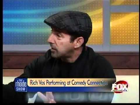 Rich Vos Performing at Comedy Connection
