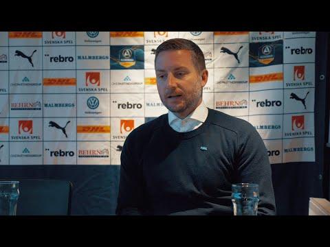 Presskonferens efter ÖSK - Kalmar FF