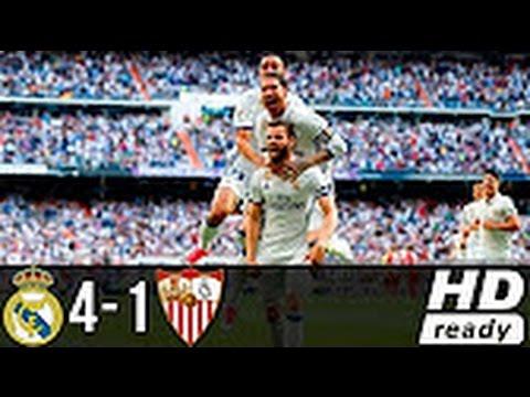 Cristiano Ronaldo Goal 4-1 Real Madrid Vs Sevilla - All Goals & Highlights 14/05/2017 HD
