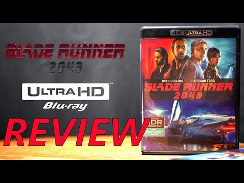 Blade Runner 2049 4K Bluray Review | Dolby Atmos