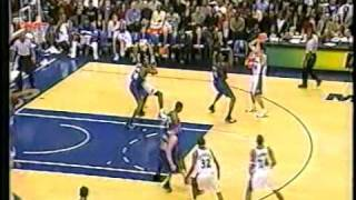 T-Mac two dunks in a row (facial on Kwame Brown) vs Jordan's Wizards