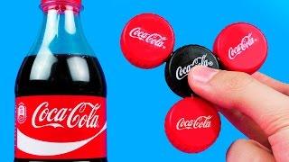 Video How To Make A Coca-Cola Fidget Spinner MP3, 3GP, MP4, WEBM, AVI, FLV November 2017