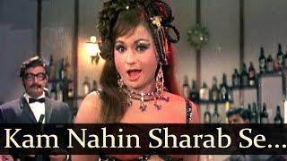 Kam Nahin Sharab Se Shokhiyan  Helen  Joy Mukherjee  Aag Aur Daag  Seductive Cabaret Song