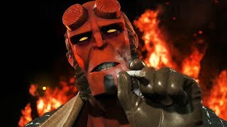 ►► Select 1080p HD for Best Quality ◄◄ Hellboy, Black Manta & Raiden revealed for Fighter Pack 2 in Injustice 2 Twitter: http://www.twitter.com/rajmangaminghdFaceBook: http://www.facebook.com/rajmangaminghdBusiness Enquiries: rajmangaminghd@fastmail.com Injustice 2 will release for the PlayStation 4 computer entertainment system and Xbox One beginning on the 19th of May 2017.  Roster (so far):  - Aquaman - Atrocitus - Bane - Batman - Black Canary - Black Adam - Black Manta - Blue Beetle - Brainiac - Captain Cold - Catwoman - Cheetah - Damian - Darkseid - Deadshot - Doctor Fate - Firestorm - Flash (Barry Allen) - Green Lantern (John Stewart) - Gorilla Grodd - Harley Quinn - Hellboy - Joker - Poison Ivy - Power Girl - Raiden - Red Hood - Reverse-Flash - Scarecrow - Starfire (DLC) - Sub-Zero (DLC) - Supergirl - Superman - Swamp Thing - Wonder Woman  Injustice 2 offers the latest DC fighting game experience that expands on the previous title's larger-than-life showdowns. Every battle defines you in a game where players personalize iconic DC characters with unique and powerful gear earned throughout the game. For the first time gamers can take control of how their characters look, fight and develop across a variety of game modes.  Injustice 2 continues the epic cinematic story introduced in Injustice: Gods Among Us as Batman and his allies work towards putting the pieces of society back together while struggling against those who want to restore Superman's regime. In the midst of the chaos, a new threat appears that will put Earth's existence at risk.  Players can play from the biggest DC roster ever offered in a fighting game, from classic fan favorites such as Batman, Superman, Supergirl and Aquaman, to astonishing new villains like Atrocitus and Gorilla Grodd. Battles will take place across arenas that have evolved in scale and span across iconic locations such as Metropolis, Gotham City and Atlantis.  Platforms: Playstation 4 & Xbox One