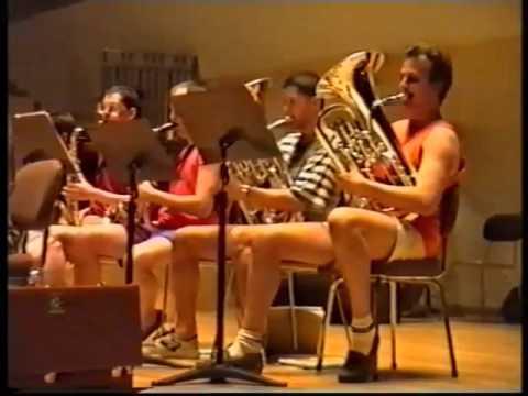 Concertband Lier Jozef Ratajczak First Rehearsal in Valencia 1993