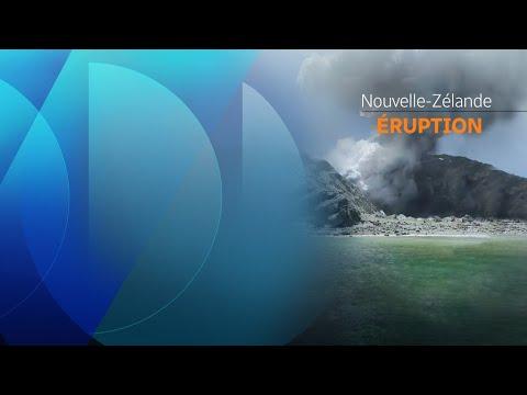 Éruption volcanique meurtrière en Nouvelle-Zélande