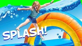 Assistant Slip N Slide Bounce House Carnival Challenge Surpris...