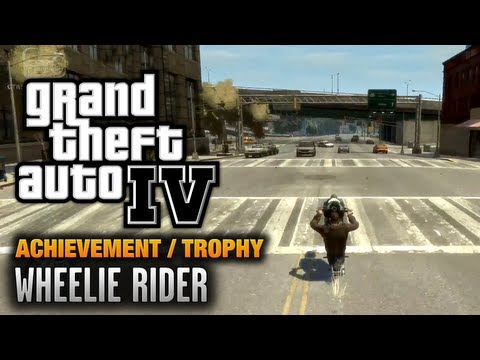 GTA 4 - Wheelie Rider Achievement / Trophy (1080p)