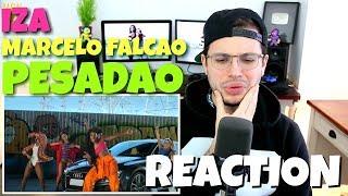 image of IZA - Pesadão (Participação especial Marcelo Falcão) | REACTION