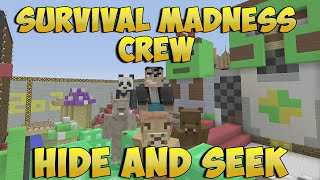 Minecraft Xbox 360 - Hide and Seek - Survival Madness Crew