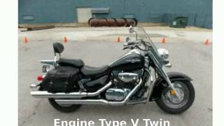 1. 2005 Suzuki Boulevard C90 Black Walkaround and Specification