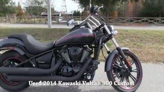 7. 2014 Kawasaki Vulcan 900 Custom for sale Lakeland Florida