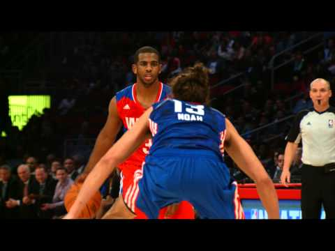 all star - CP3 showed off his All-Star skills in the game to help the Western Conference win and give himself the MVP Award. Check out some of his best moments through ...