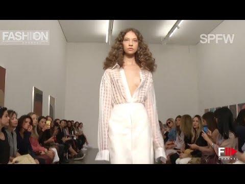GIULIANA ROMANNO Sao Paulo Fashion Week N°44 - Fashion Channel видео
