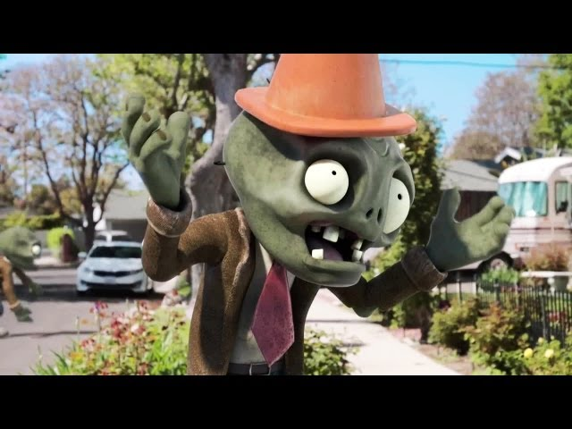 Plants VS Zombies 2 Official Trailer