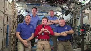 Expedition 51 Crew Hands Over the Space Station to Expedition 52 by NASA