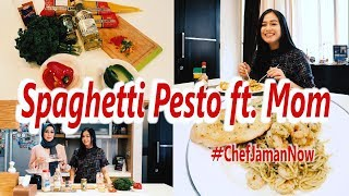 Video Spaghetti Pesto ft. Mom | #ChefJamanNow | Caca Zeta MP3, 3GP, MP4, WEBM, AVI, FLV Desember 2017