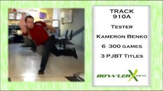 Track 910A Bowling Ball Reaction Video - BowlerX.Com