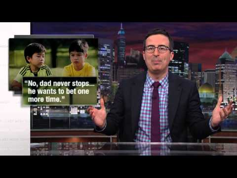 John Oliver Responds to Singapore's Gambling Ad [3:19]