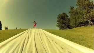 Giant slip'n slide (GoPro 2)
