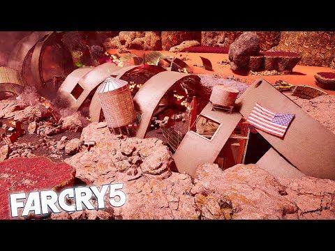 FAR CRY 5 MARS SPACESHIP CRASH! Far Cry 5 Arcade Funny Moments & Fails!