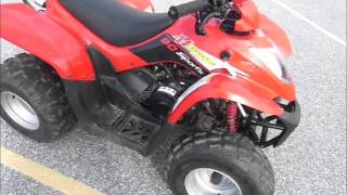 6. 2014 Kymco Mongoose 90 Stock #9-0413@ Diamond Motor Sports