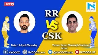Live IPL 2019 Match 25 Discussion : RR vs CSK | Chennai Super Kings Won By 4 Wickets