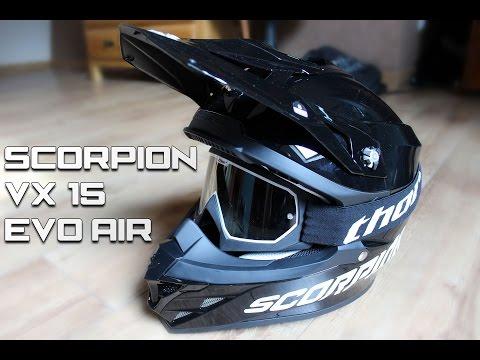 UNBOXING | Déballage du Casque Scorpion VX-15 Evo Air !
