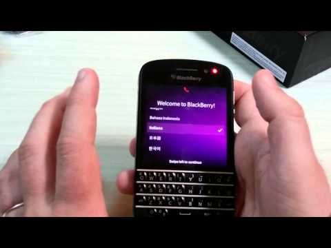 BlackBerry Q10: il nostro Video unboxing ITA