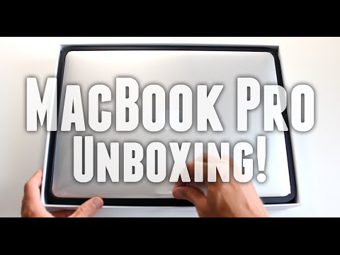 Apple Macbook pro Unboxing - Here is an unboxing of the latest Apple MacBook Pro Retina 15