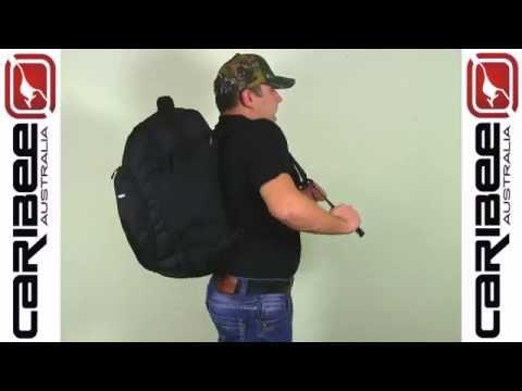 Відео огляд сумки-рюкзак Caribee Sky Master 40 Carry On