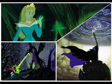 Maleficent's Spell/Battle With the Forces of Evil