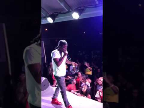 Masicka performing infrared ft vybz kartel, disses gully/vendetta (Video)