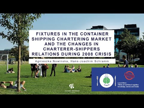 Fixtures in the container shipping chartering market