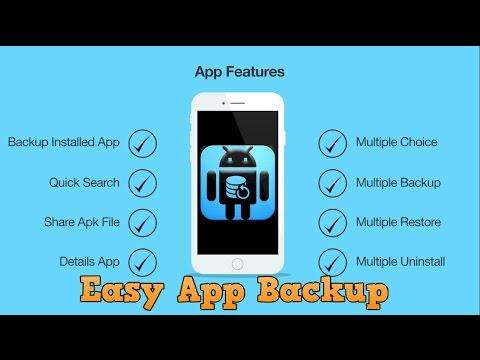 Easy App Backup