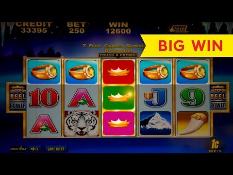 White Tiger Slot – JACKPOT FEATURE – Progressive & BIG WIN BONUS!