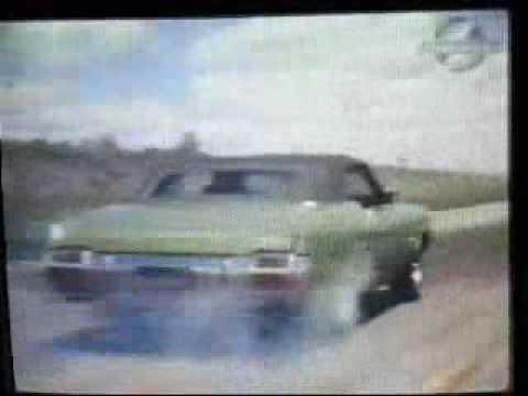 1971 Oldsmobile 442 W30 455 Convertible Road Test Drifting @ Grattan  raceway