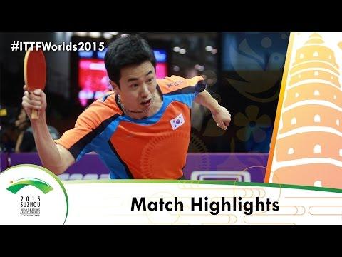 WTTC 2015 Highlights: MA LONG vs JOO Saehyuk (R 16)