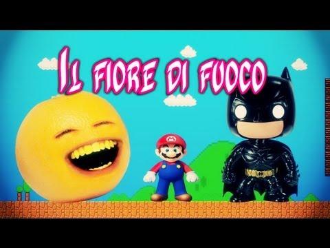 KYO E IL FIORE DI FUOCO feat. Batman, Super Mario, Arancia catanese