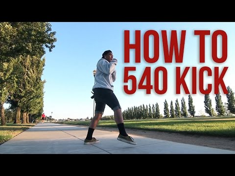 540 - Details: This tutorial teaches you how to do one of the basics of Martial Arts Tricking which is the 540 kick. This move starts from a tornado kick, so make ...