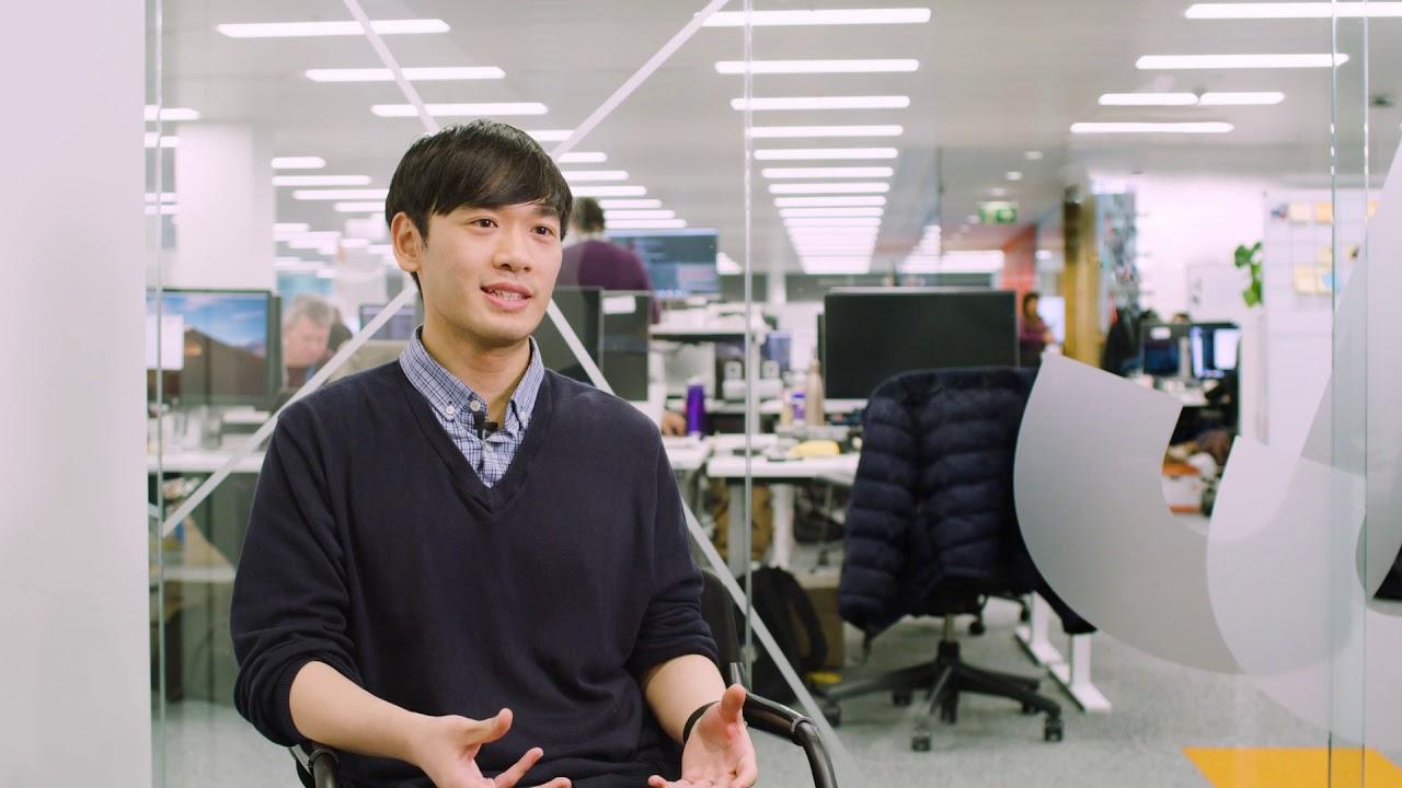 Video Thumbnail: Sainsbury's tech - Peter Ting