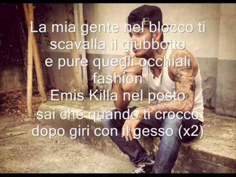 , title : 'Emis Killa - Loccato  (testo)'