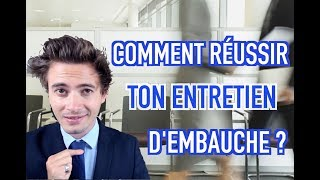 Video COMMENT RÉUSSIR TON ENTRETIEN D'EMBAUCHE - NINO ARIAL MP3, 3GP, MP4, WEBM, AVI, FLV September 2017